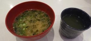 はま寿司のサイドメニュー「あおさのみそ汁」